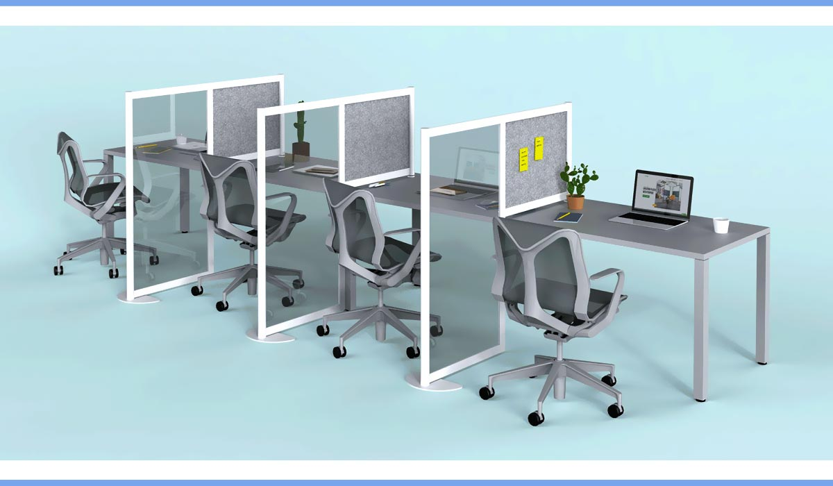 Covid Office Furniture Loftwall Hitch