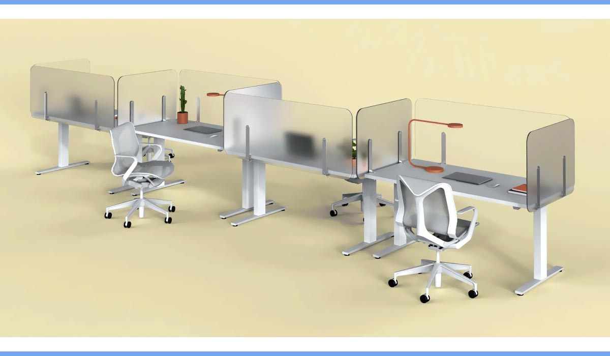 Covid Office Furniture Loftwall Shelter