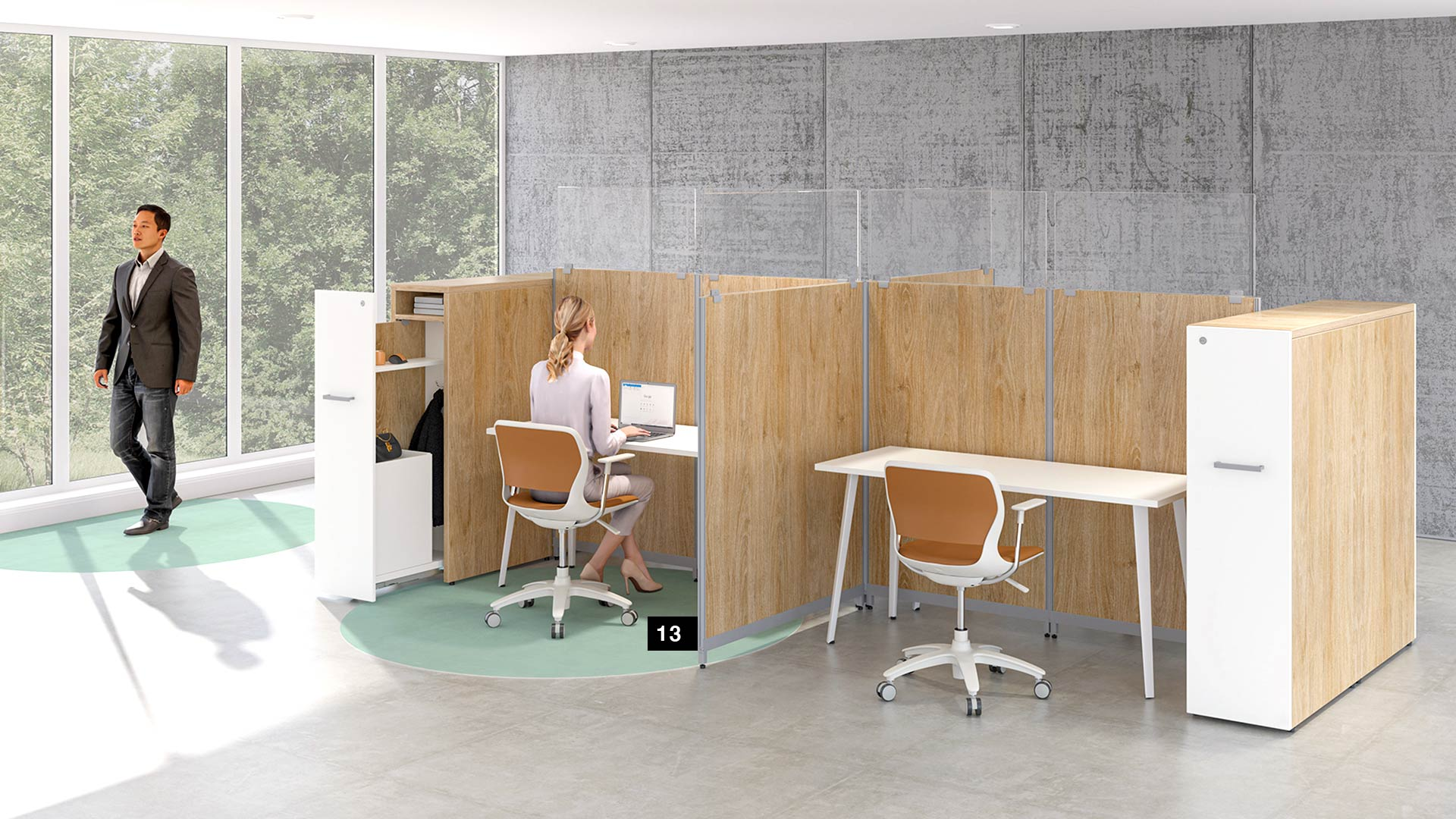 social-distancing-office-groupe-lacasse-pangram-workstations-1