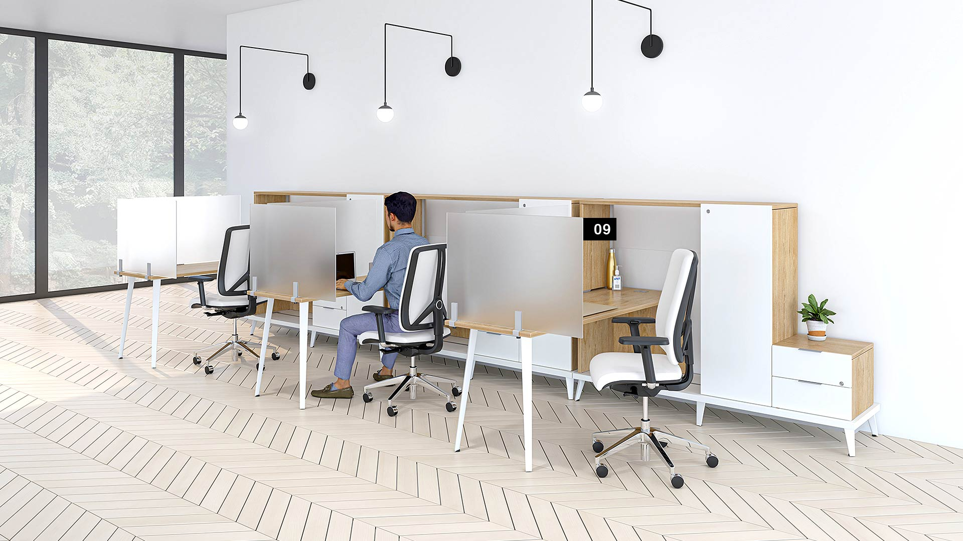social-distancing-office-groupe-lacasse-stad-benching-collection