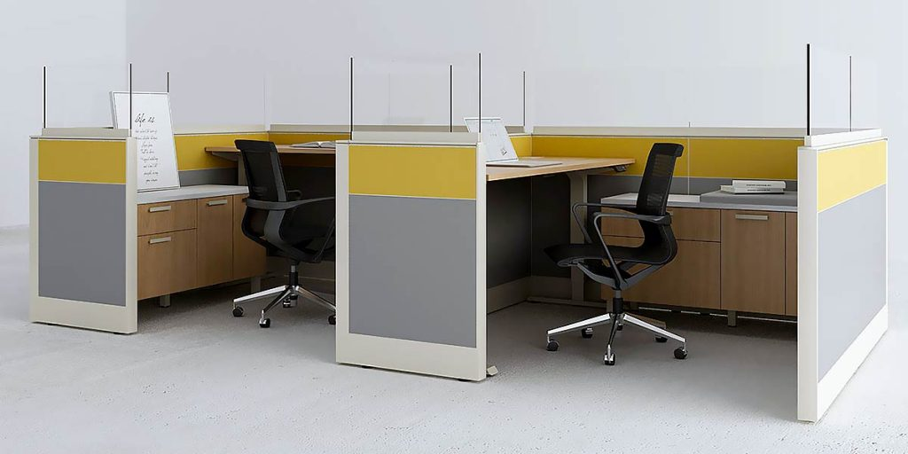 How to Protect Workers in Open Office Floor Plans From Covid-19