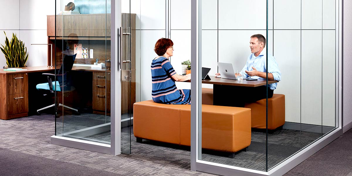 Covid-19 in the Office Trendway Clearwall
