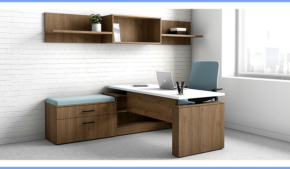 Work From Home DeskMakers Ascend Height Adjustable Desk