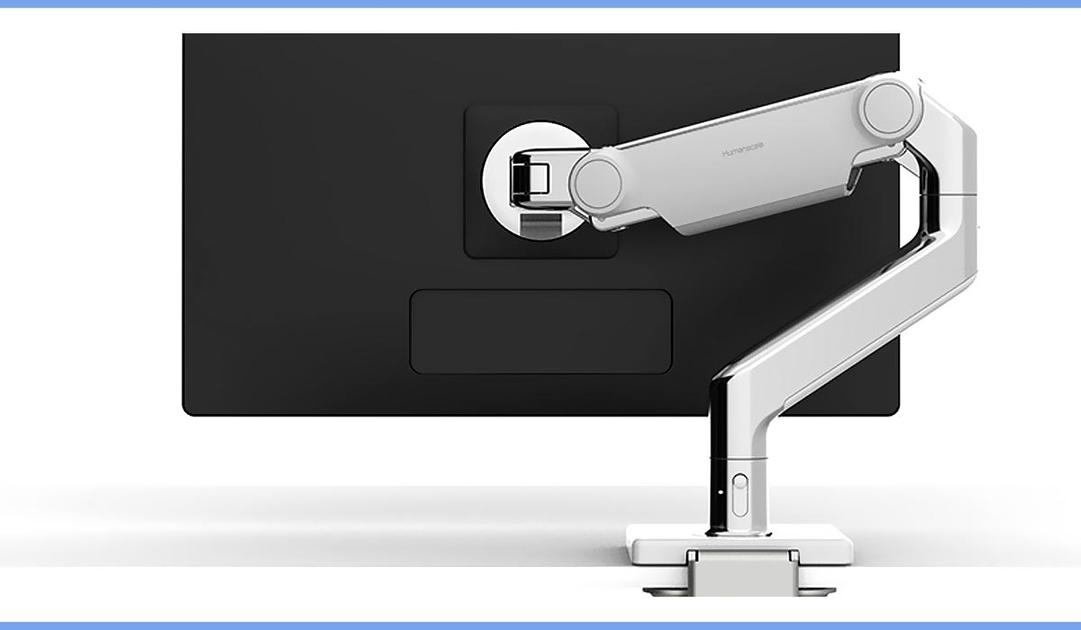 Work From Home Humanscale Monitor Arm