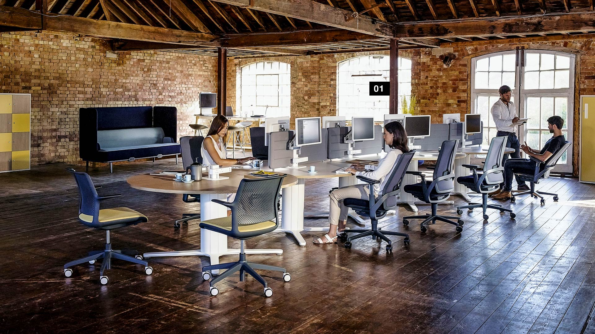 Modern Industrial Office Furniture Design Guide Office Inspiration