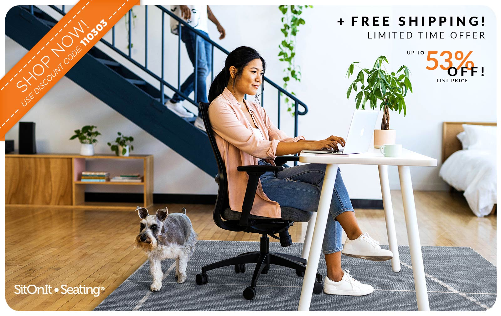 Work From Home SitOnIt Seating Deal