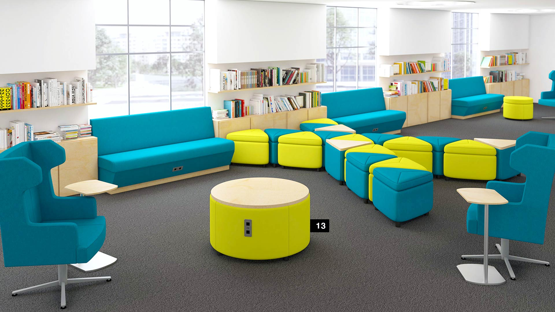 Resimercial ERG International Geometra Lounge
