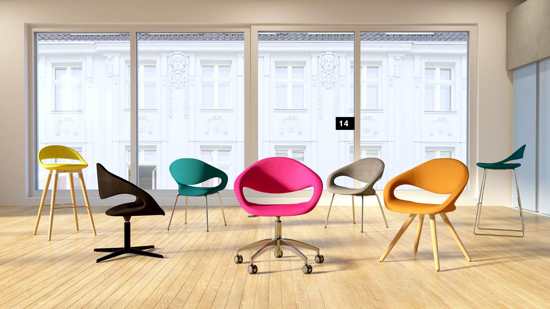 Resimercial ERG International Samba Chairs