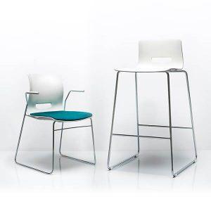 Allermuir Casper Chair and Stool