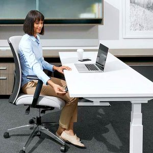 Global FreeFit Benching Height Adjustable Table
