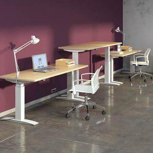 ERG International Abby Height Adjustable Table