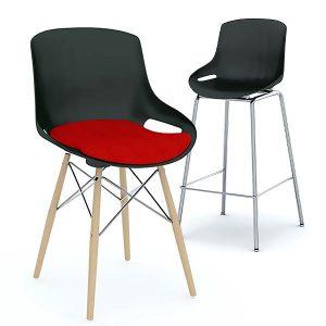 ERG International Elliot Chair and Stool