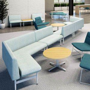ERG International Nikki Lounge Seating and Table