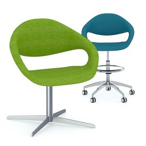 ERG International Samba Chair and Stool