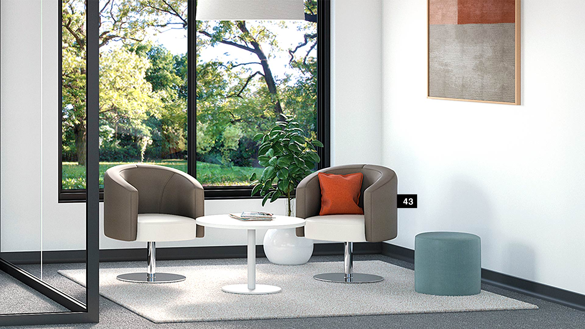 green-office-groupe-lacasse-apero-seating